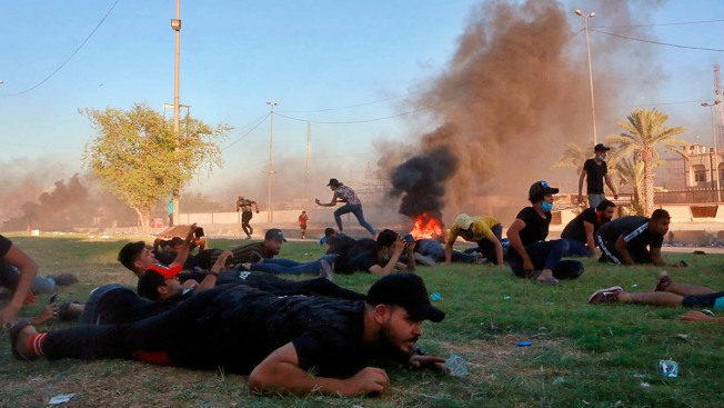 Security Forces Kill More Than 80 in 5 Days of Iraq Protests