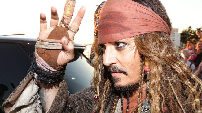 WATCH: Johnny Depp Bottle-Feeds Preemie Baby Bat Named 'Jackie Sparrow'