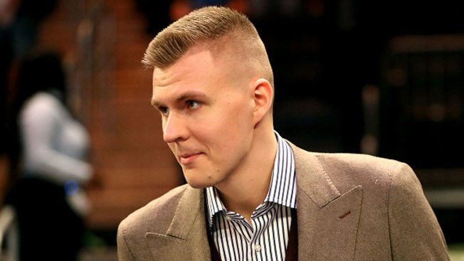Video Surfaces on Social Media Showing Mavericks Star Kristaps Porzingis Bloodied After Altercation