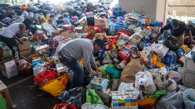 London High-Fire: Flood of Donations for Survivors Overwhelms Nonprofits