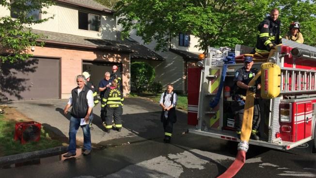 2 Firefighters Injured Battling Basement Fire