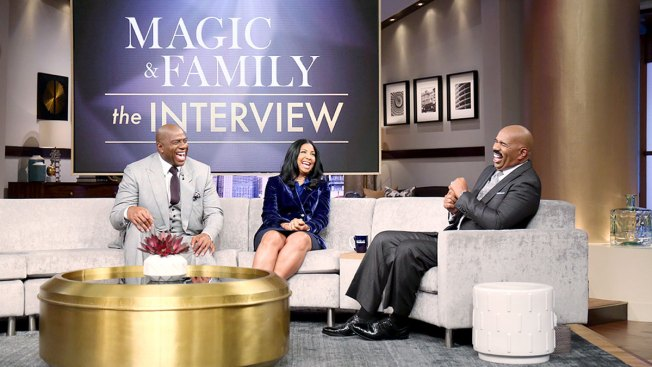 Magic Johnson and Family Join Steve Harvey To Discuss Their Lives And Marriage