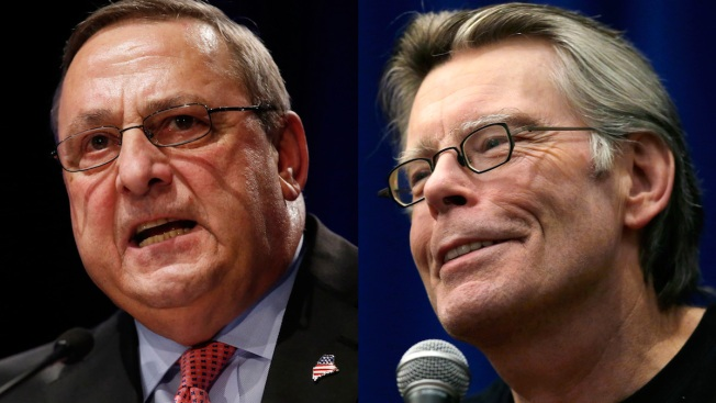 """Stephen King: Maine Gov. Should """"Man Up and Apologize"""" for Residency Comment"""