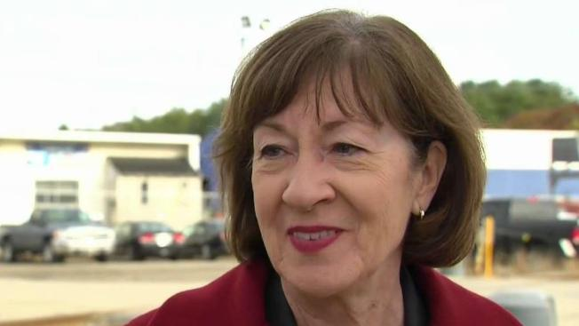 Sen. Susan Collins Supports Trump's Proposal to End Shutdown