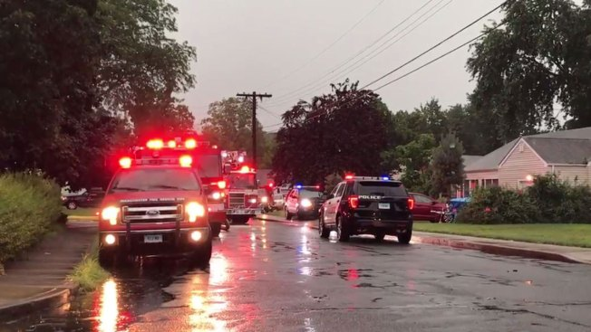 Lightning Hits House, Starts Fire in Manchester: Witness