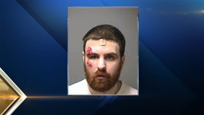 Man Attacks Officers After Harming Self