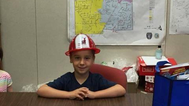5-Year-Old Boy Helps Prevent Larger Fire at Neighbor's House