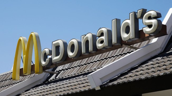 Firefighters Rescue Girl Stuck in McDonald's Playground