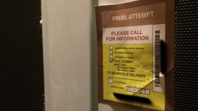 Fake Delivery Tags Left on Doors