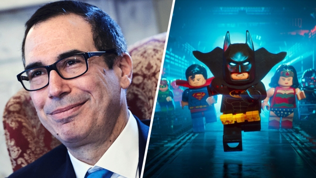 Mnuchin says joke about 'Lego Batman Movie' was mistake