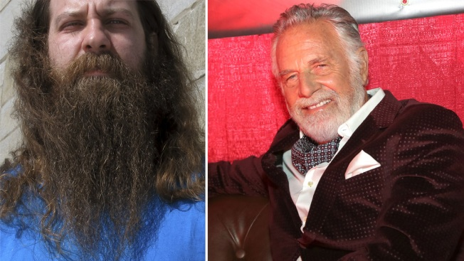Ex-'Most Interesting Man in the World' Judges Best Beard Contest; Girl's Dad Wins