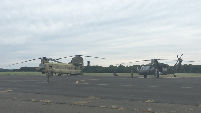 Connecticut Guardsmen Return From Hurricane Relief Mission