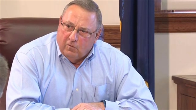Maine Gov. Paul LePage Announces He's Not Running For US Senate