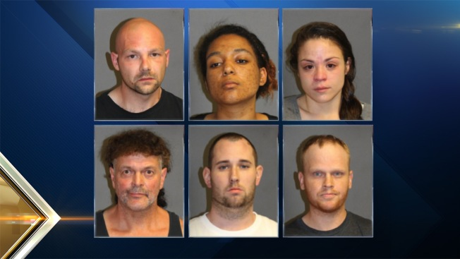 6 Arrested for Various Drug Crimes in Nashua, New Hampshire