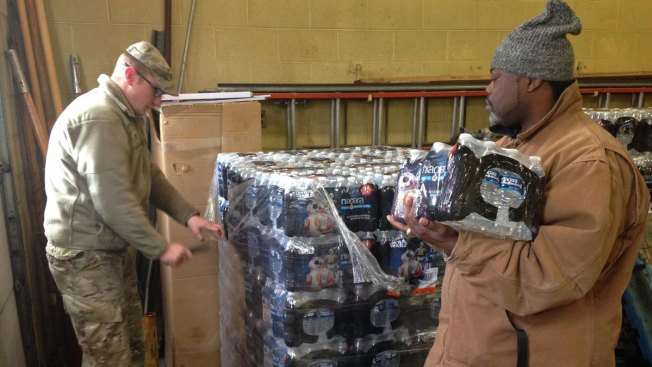 Cher donates thousands of water bottles to Flint, Michigan