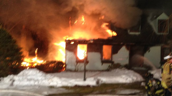 No Injuries Reported in Old Saybrook House Fire