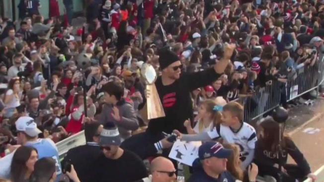 Patriots Super Bowl Championship Parade Draws 1.5 Million Fans - NECN 522798f90