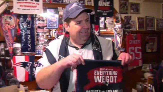 Die-Hard Patriots Fans Gearing Up for AFC Championship - NECN 85044c2be