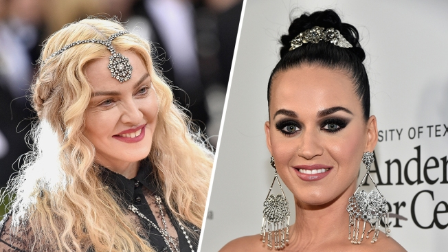 Madonna poses naked in solidarity with Katy Perry