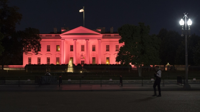 White House Turns Pink for Breast Cancer Awareness Month