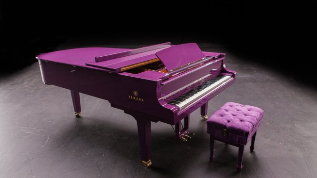 Prince's Custom-Made Purple Piano Was to Go on Tour With Him