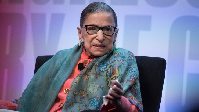 Ginsburg: Work on Court 'Saved Me' During Cancer Treatment