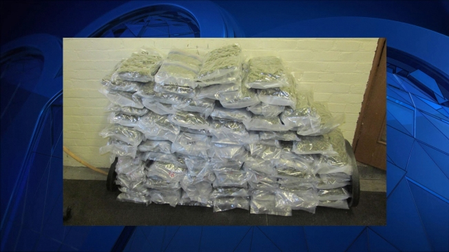 Police in RI Arrest 2, Seize 94 Pounds of Marijuana