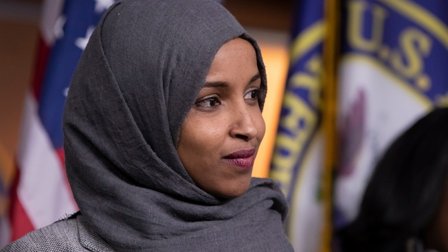 GOP's Anti-Muslim Display Likening Rep. Omar to a Terrorist Rocks W.Va. Capitol