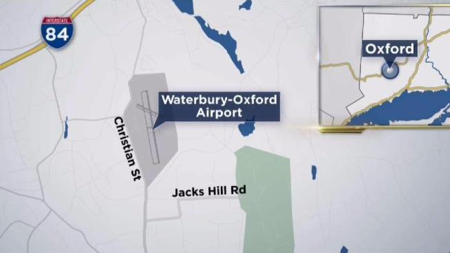Missing Plane Located At Robertson Field NECN - Where is oxford located