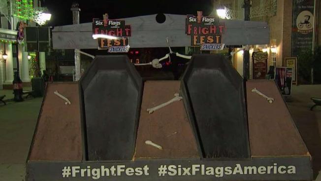 30 Hours in a Coffin? Six Flags Offers Chance at Free Pass, and Cash