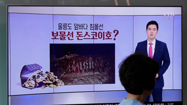 S. Korean Firm Says It's Found Sunken Russian Ship With $132B in Gold