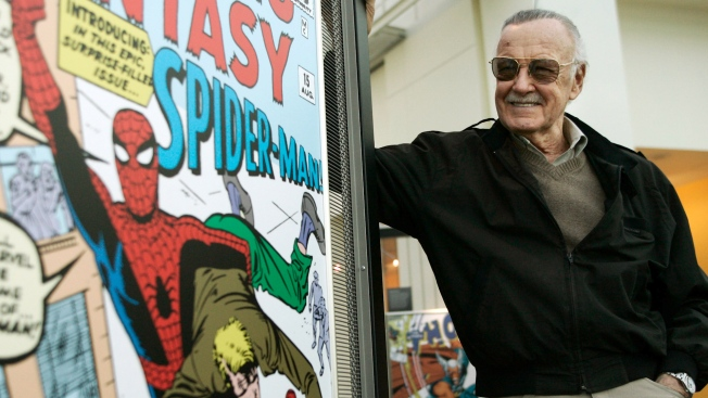 Stan Lee's Devoted Fans Can Mourn Him at Hollywood Memorial