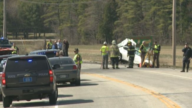 1 Dead, 1 Injured in Maine Crash