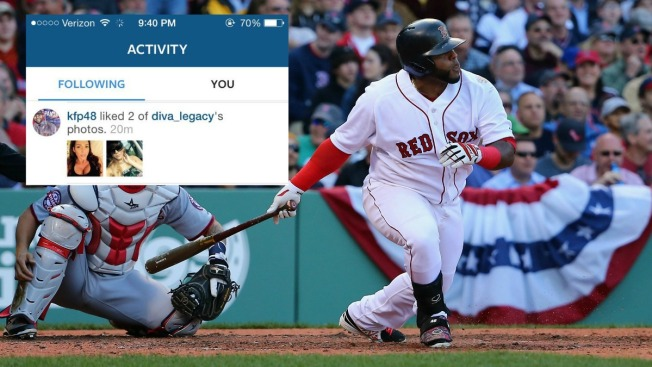 Sandoval Admits to Liking Instagram Photos During Game, Benched for Game