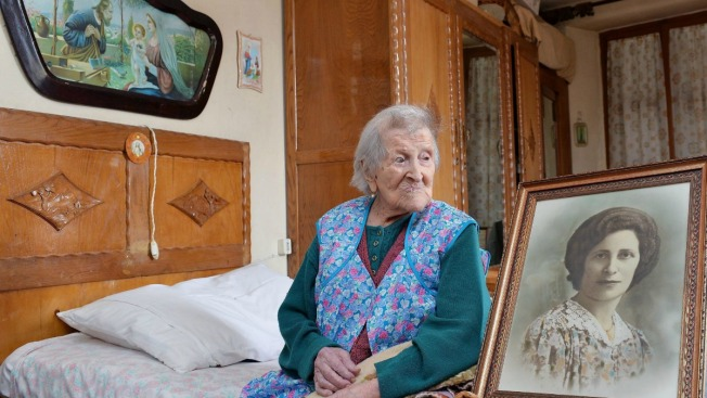 World's oldest living person celebrates 117th birthday in Italy