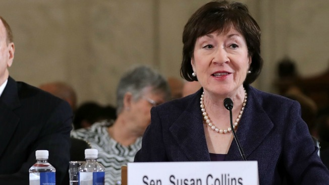 Maine's Sen. Susan Collins Announces She Won't Vote for Trump's Education Pick
