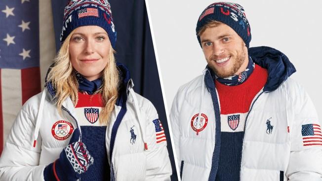 Nike unveils Olympic hockey jerseys for USA, Canada