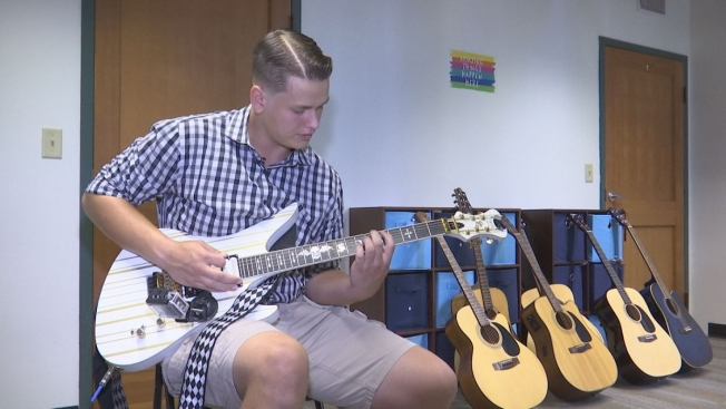 Baltic Teen Refurbishing Guitars to Help Veterans, Active Duty Service Members Express Themselves