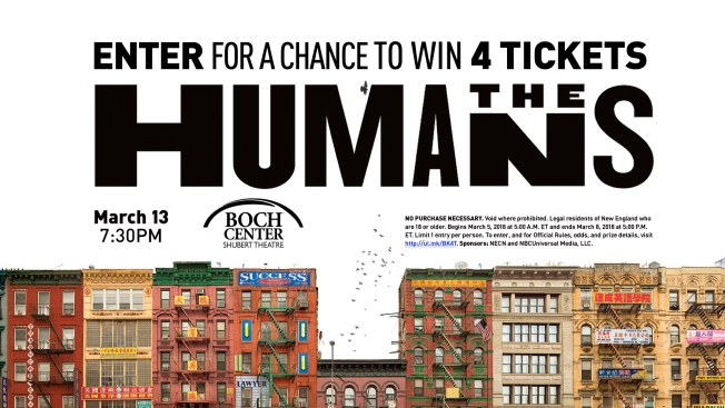 Enter for a Chance to Win 4 Tickets to 'The Humans'