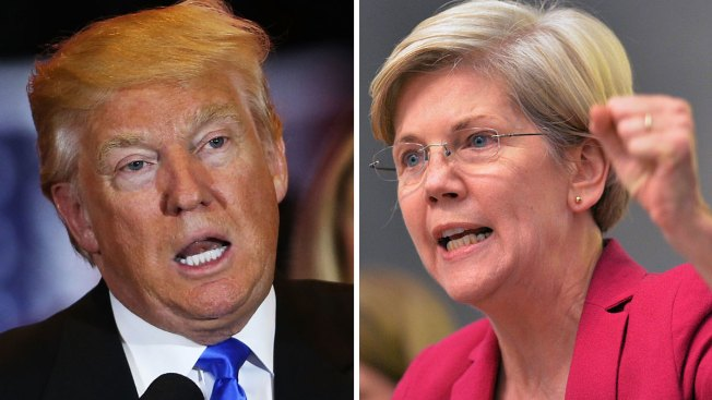 Warren Looks to Move Forward With Trump