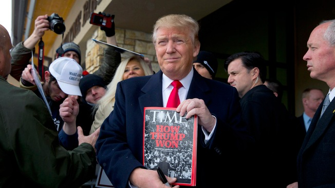 Time offered Trump 'Person of the Year'