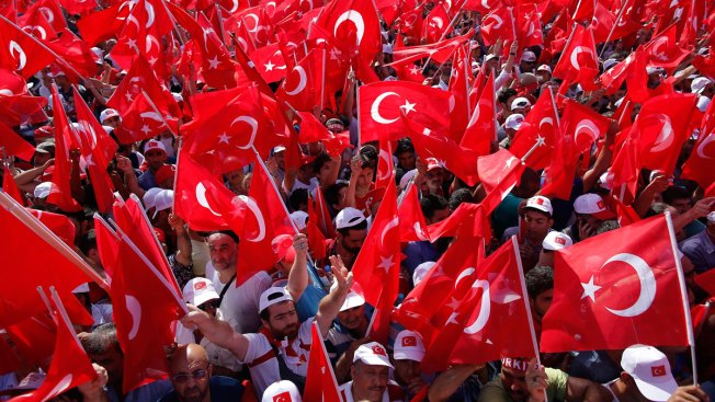 More Than 1 Million Attend Anti-Coup Rally in Istanbul
