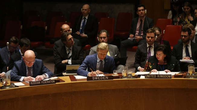 UN Security Council Heads to Retreat at Odds Over Syria