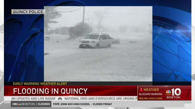 Major Flooding Wreaks Havoc Along New England Coast Necn
