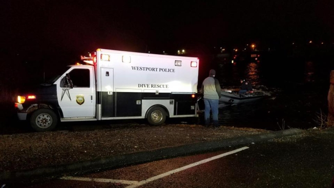 One Dead After Car Crashes into Saugatuck River in Westport