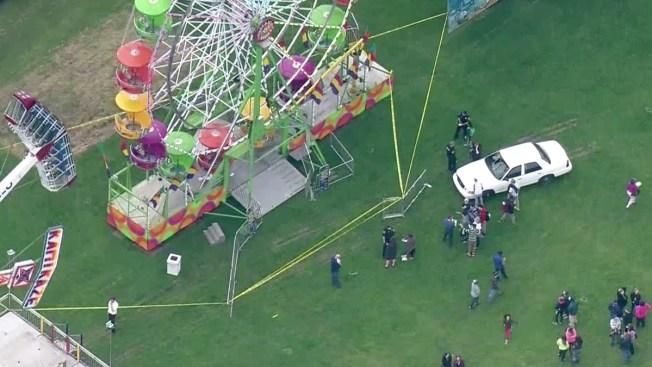Boy, 2 Adults Hurt After Ferris Wheel Fall Near Seattle