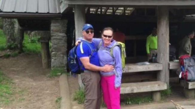 woman walks from nj to maine in memory of late husband killed on