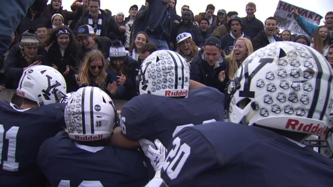 Yale Beats Harvard to 24-3 to Win Ivy League Championship