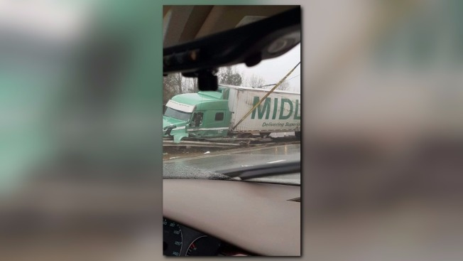 Tractor-Trailer Rollover Causes 10-Hours of Delays on Maine Turnpike