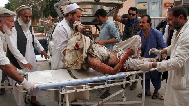 Officials: Blast at Afghan Mosque Kills 62 During Prayers
